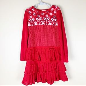 Hanna Andersson Fair Isle Sweater Dress